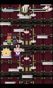 アムロッチ・ウサビッチJUMP!:アムロッチを操作してステージ上までジャンプ!