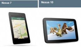 「Nexus 7 32GB」と「Nexus 10」がGoogle Playに登場してた!