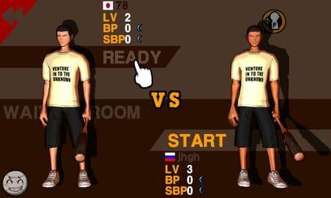 フリースタイル野球 - Wannabat EX:マルチ対戦で世界のプレイヤーとリアルタイムバトル!