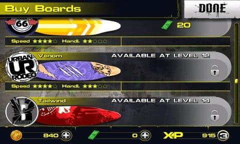 Downhill Xtreme:カスタム要素も豊富。