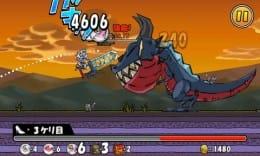 ケリ姫スイーツ:兵士を蹴り上げ、敵を倒せ!