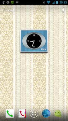 NHK時計:我が家にカラーテレビがやってきた!という感じ