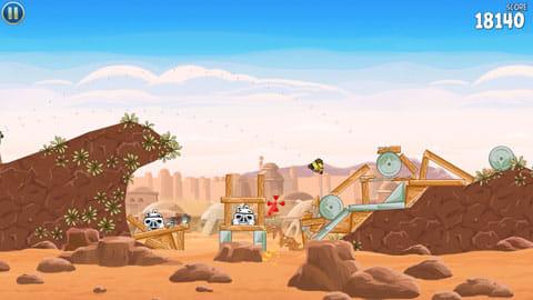 Angry Birds Star Wars:鳥になっても渋いハン・ソロ