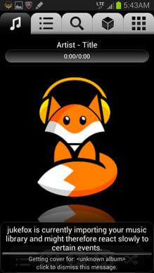 jukefox - a smart music player