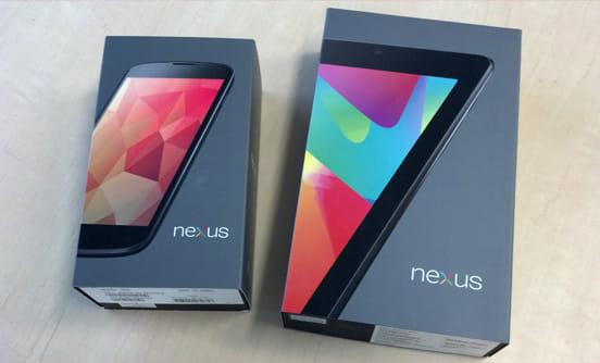 「Nexus 7」の箱と似ています