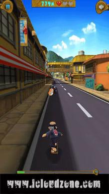 Crazy Grandpa:古き良き日本の街並みをスケボーで疾走しよう。