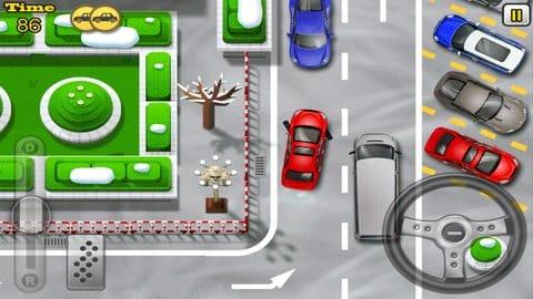 駐車の達人2:ハンドル操作を間違うと即事故に。