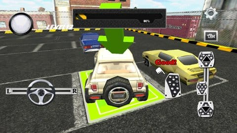 駐車場の専門家 3D:無理矢理ねじこみました。