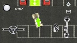 駐車場の専門家 3D:ゴールが緑で↑で示してくれる。