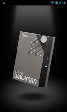 """「ウォークマン クラシックス」は、歴代""""ウォークマン""""を3Dで楽しめる上に音楽再生もできる"""