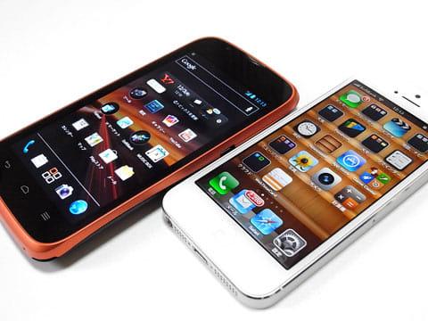 プラチナバンド対応のスマートフォンたち