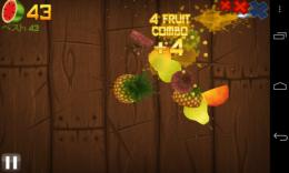 ジューシーすぎるアクションゲーム『Fruit Ninja Free』