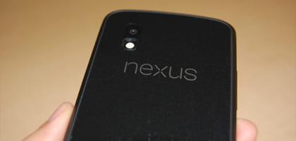 「Nexus 4」開封レポート!気になる技適マークの有無は?