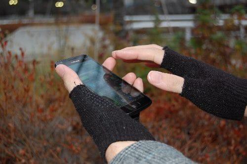 使いやすさが格段と向上する指なし手袋