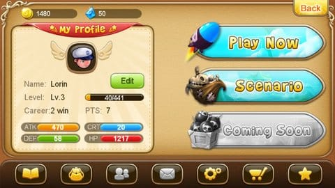 Fantasy Adventure:2つのモードを選択できるので、楽しさ2倍!