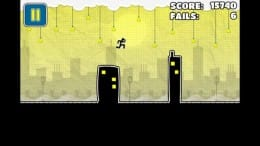 Tiny City Runner: 2013 Running:ぬるぬると棒人間が飛び跳ねる!