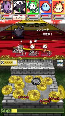 【コイン落としRPG】モンスターズコイン:コインを落として敵を攻撃!新感覚コイン落しRPGを楽しもう。
