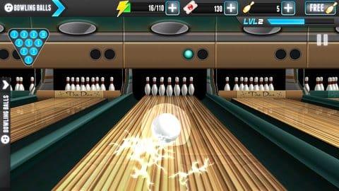 PBA® Bowling Challenge:いけぇぇぇライトニングボール!