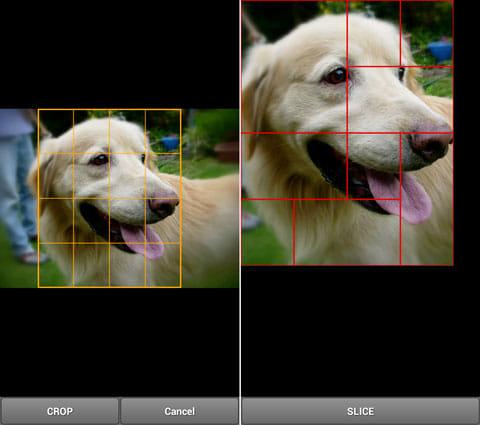 Pidget 【ホーム画面/アイコン編集アプリ】:写真を選び、フリックして分割しよう