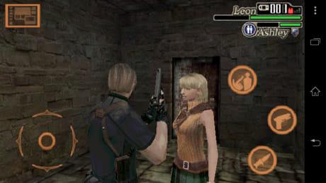 バイオハザード 4:アシュリーはプレイヤーの後をついてくる