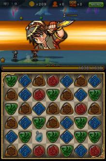 パズルロワイヤル:キャラの特殊スキルで攻撃することも可能。