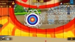 熱血アーチェリー3D:風や的の動きを読んで上手く真ん中を射抜こう!