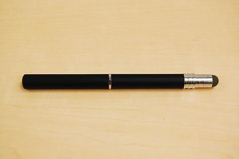 ラインの刻みが他ペンにはない特長