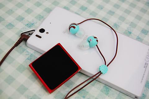 iPodにも繋がる。音質はとてもクリア