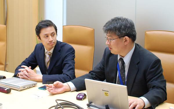 取材にご協力いただいた渡辺和伸氏(左)山本剛司氏(右)