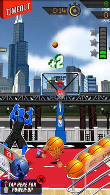 NBA: King of the Court 2:連続してゴールを決めるのは爽快!