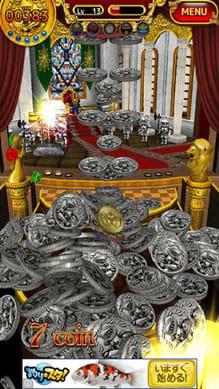 OPERA COIN:豪雨の様にザクザク降り注ぐコイン!画面の中が大変なことに。