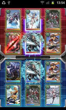 カードファイト!! ヴァンガード 惑星大戦:最強デッキを組んでバトル!