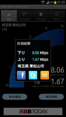 高速通信のLTE