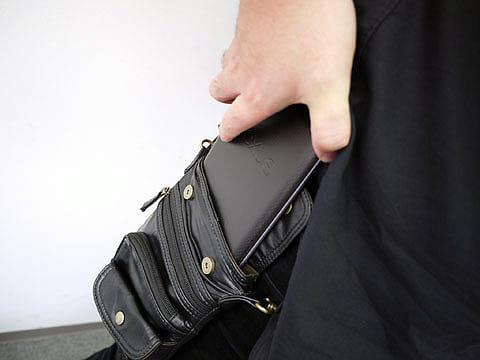 シザーバッグにNexus 7がすっぽり入る