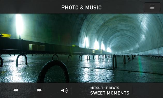 仙台・東西線フォトギャラリー:6つの音楽が写真の世界観を際立たせている