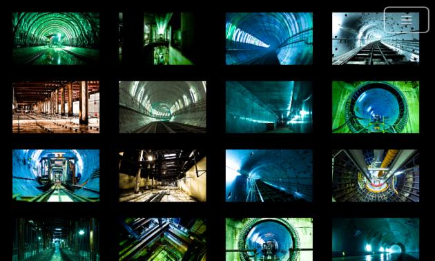 仙台・東西線フォトギャラリー:自分で見たい写真を選べる