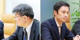 取材にご協力いただいた山本剛司氏(左)渡辺和伸氏(右)
