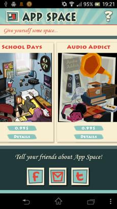 AppSpace:有料だが、別のイラストに変更することも可能
