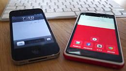 iPhone 4からINFOBAR A02に電話帳を移してみました!