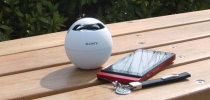 小さい・かわいい・音がいい三拍子そろったSONY製Bluetoothスピーカー