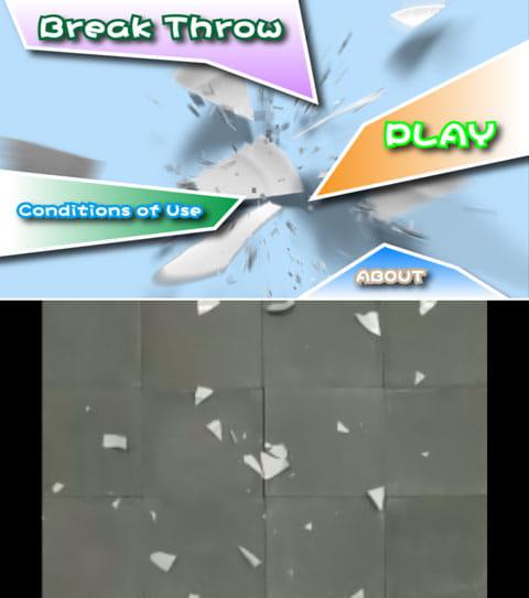 Break Throw:好きなだけお皿を割っても怒られない!