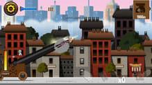 Angry Gran Toss:人間大砲になり危険なバーちゃんが脱獄開始!