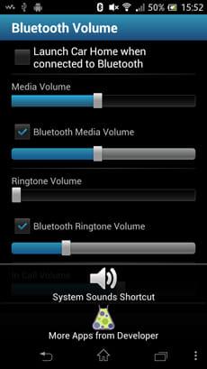 Bluetooth Volume:本体の音量調整もできる