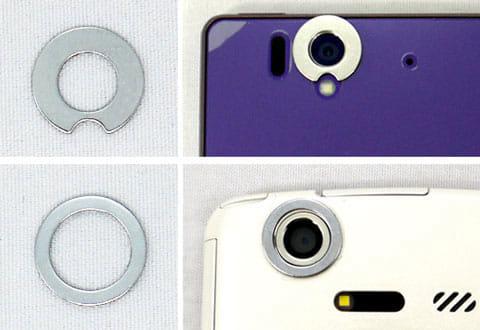 マウントリング(直径13mm・丸型)は2種類用意されている