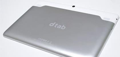 """1万円以下で買えるドコモの激安10.1インチタブレット「dtab」は""""買い""""か徹底検証!"""