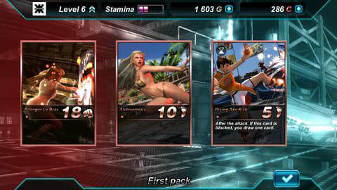 鉄拳カードトーナメント:カードの指名買いは高額だが、ブースターパックは無課金でもゲット可能だ。