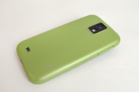 ナチュラルな緑色。長く使うにはもってこい