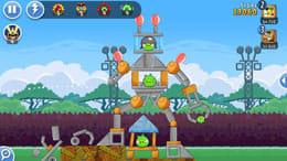Angry Birds Friends:高難易度のステージでのスコアアタックがアツい!