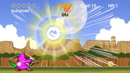 MONSTER HOMERUN for KAKAO:ジャストミートさせて特大アーチを打ち込め!