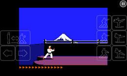 Karateka Classic:ポイント2
